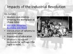 impacts of the industrial revolution1