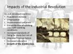 impacts of the industrial revolution2