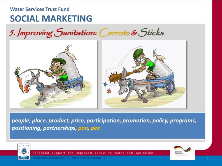 water services trust fund social marketing n.