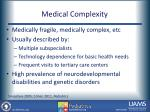 medical complexity