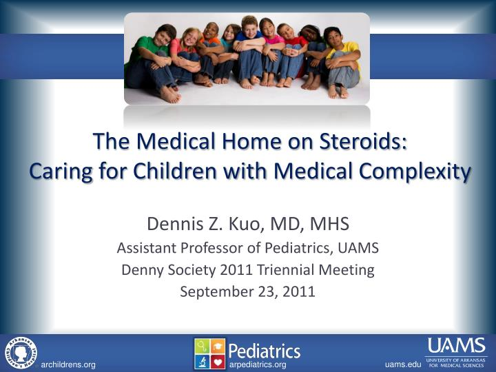 the medical home on steroids caring for children with medical complexity n.