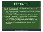 rrbs pipeline