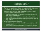 tophat aligner