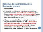 memorial georreferenciado e a descri o tabular4