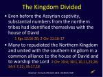 the kingdom divided1