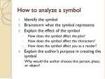 how to analyze a symbol
