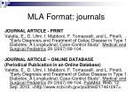 mla format journals2