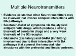 multiple neurotransmitters
