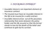 2 insurable interest