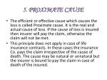 5 proximate cause
