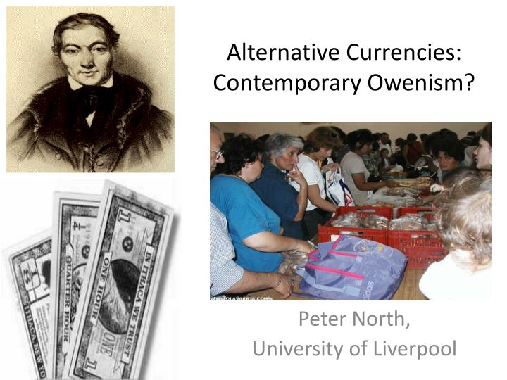 alternative currencies contemporary owenism n.