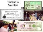 trueque in argentina