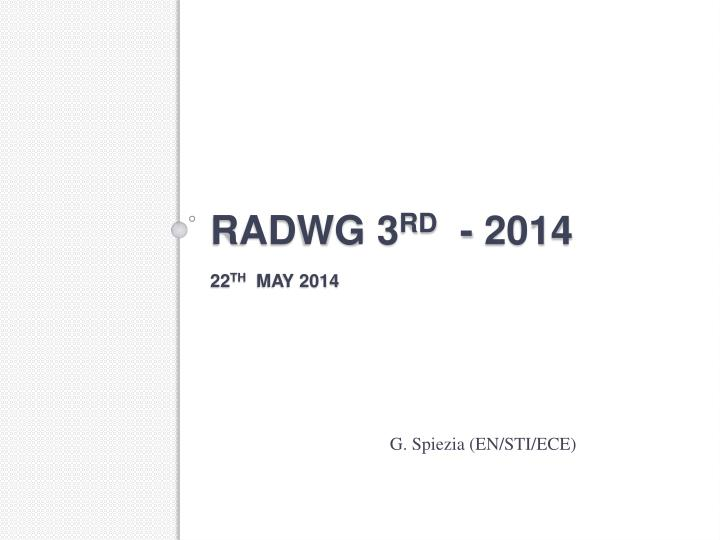 radwg 3 rd 2014 22 th may 2014 n.