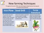 new farming techniques