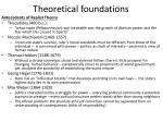 theoretical foundations5