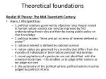 theoretical foundations8