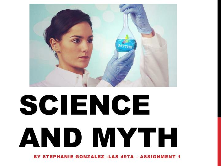 science and myth n.