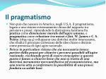 il pragmatismo