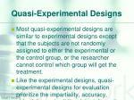 quasi experimental designs1