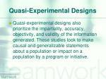 quasi experimental designs2