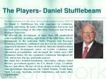 the players daniel stufflebeam