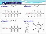 hydrocarbons