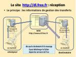 le site http dl free fr r ception