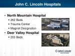 john c lincoln hospitals