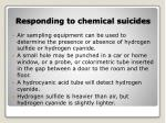 responding to chemical suicides11