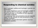 responding to chemical suicides13