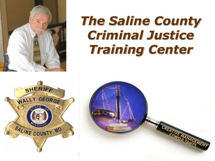 the saline county criminal justice training center n.