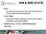 aim end state