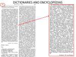 dictionaries and encyclopedias9