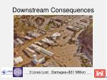 downstream consequences
