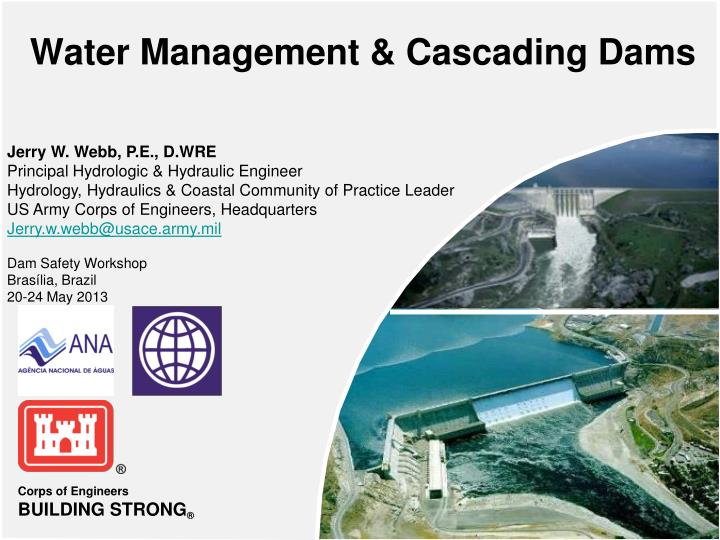 water management cascading dams n.
