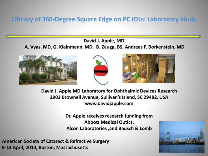 efficacy of 360 degree square edge on pc iols laboratory study n.