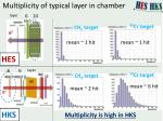 multiplicity of typical layer in chamber