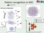 pattern recognition in kdc