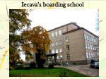 iecava s boarding school