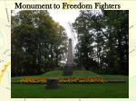 monument to freedom fighters1