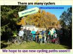 there are many cyclers