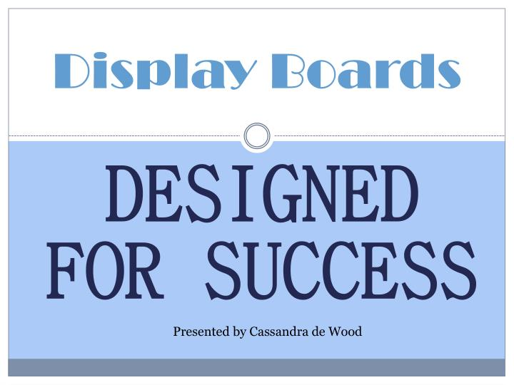 display boards n.