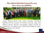 the global multidimensionl poverty peer network mppn