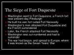 the siege of fort duquesne