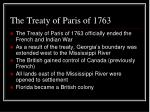 the treaty of paris of 1763