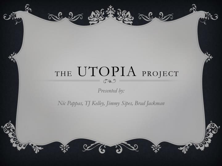 the utopia project n.