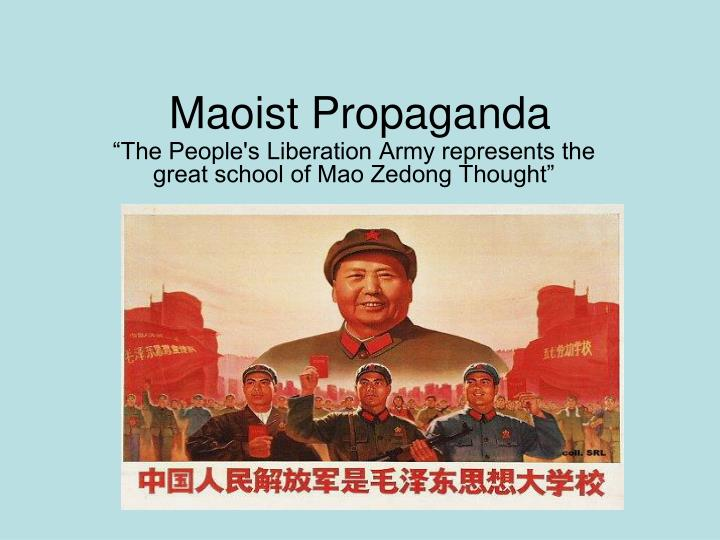 the forms of propaganda in china during the cultural revolution My youth in china: growing up in the cultural revolution opera and drama, were also turned into forms of party propaganda during the cultural revolution.