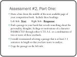 assessment 2 part one