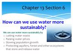 chapter 13 section 6
