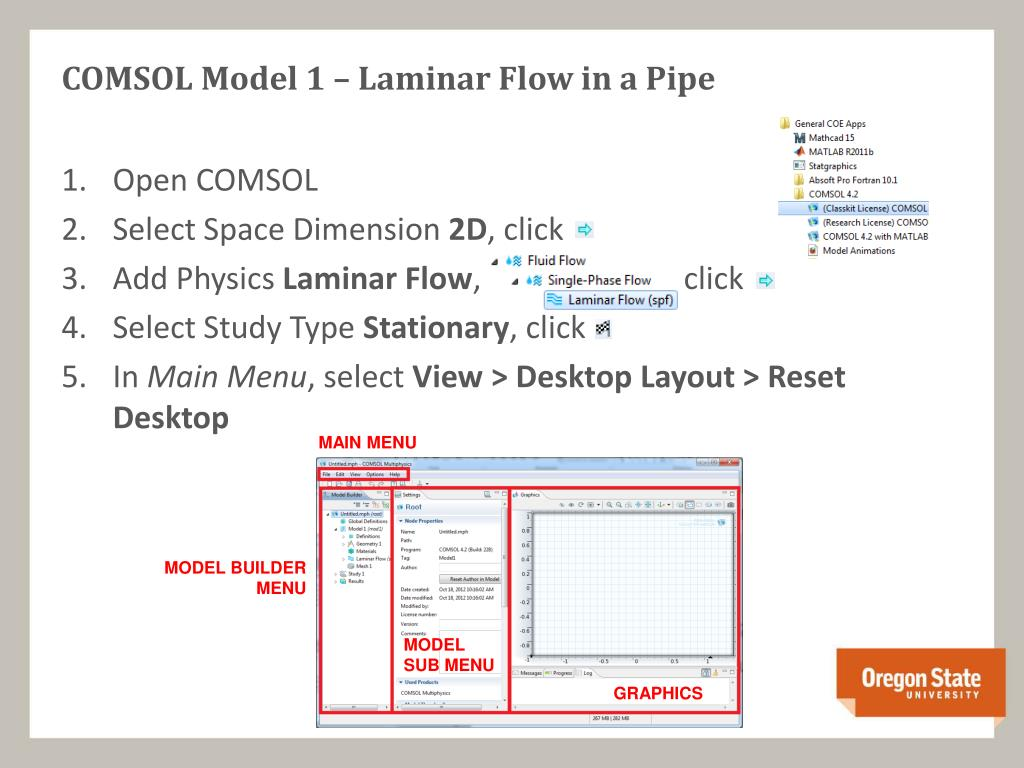 PPT - Introduction to COMSOL PowerPoint Presentation - ID:2243392